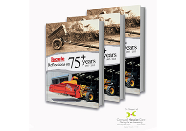 Reflections on 75 Years of Teagle Machinery - Paperback Book