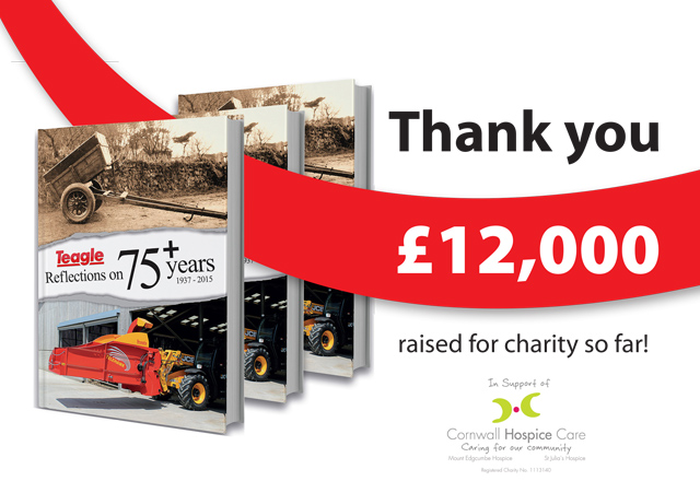 Teagle book has raised £12,000 for charity so far
