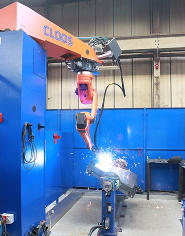 New Robot Welder